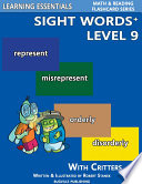 Sight Words Plus Level 9  Sight Words Flash Cards with Critters for Grade 3   Up