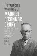 The Selected Writings of Maurice O'Connor Drury