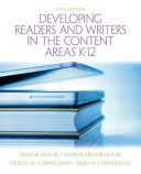 Developing Readers and Writers in Content Areas K 12