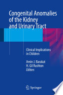 Congenital Anomalies Of The Kidney And Urinary Tract