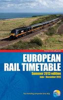 European Rail Timetable