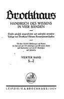 Brockhaus handbuch des wissens ...