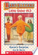 Karen s Surprise  Baby Sitters Little Sister  13