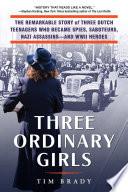 Three Ordinary Girls Book PDF