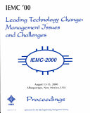 2000 IEEE International Engineering Management Conference