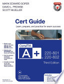 CompTIA A  220 801 and 220 802 Cert Guide