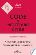 Code De Proc Dure Civile 2020 Annot 111e D