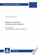 Modelo de evaluación de obras literarias traducidas