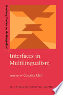 Interfaces in Multilingualism