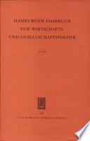 Hamburger Jahrbuch für Wirtschafts- und Gesellschaftspolitik: 27. Jahr