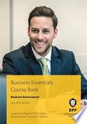 Business Essentials - Business Environment Course