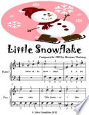 Little Snowflake - Easiest Piano Sheet Music Junior Edition