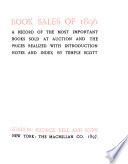 Book Sales of 1895  97 98