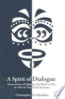 A Spirit Of Dialogue book