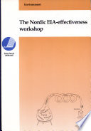 Nordic Eia-Effectiveness Workshop