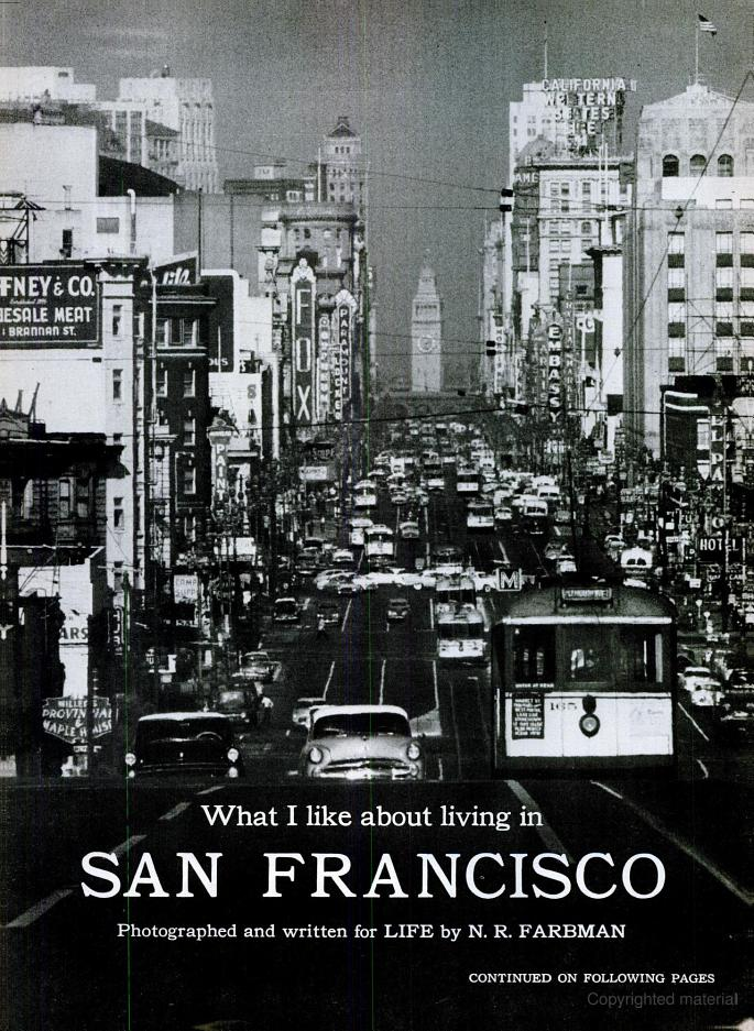 1956 Life Magazine article on San Francisco