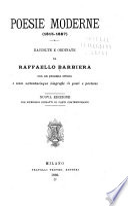 Poesie moderne, 1815-1887