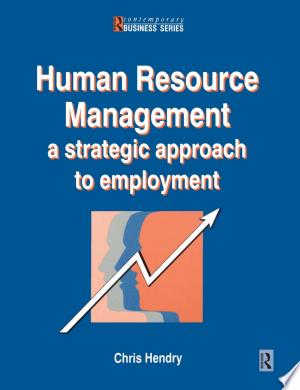 Human Resource Management - ISBN:9781136017308