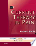 Current Therapy In Pain