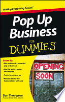 Pop Up Business For Dummies