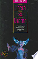 Opera as Drama: Fiftieth Anniversary Edition