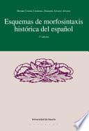 Esquema De Morfosistaxis Hist Rica Del Espa Ol