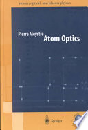 Atom Optics book