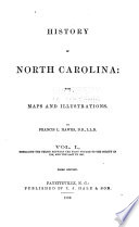 History Of North Carolina : ...