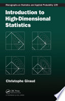 Introduction to High Dimensional Statistics