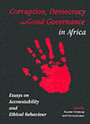 Corruption  Democracy  and Good Governance in Africa