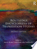 Routledge Encyclopedia of Translation Studies