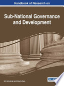 Handbook of Research on Sub National Governance and Development