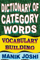 Dictionary of Category Words: Vocabulary Building