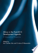 Africa in the Post 2015 Development Agenda
