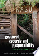 Research  Records and Responsibility