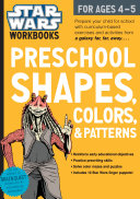 Star Wars Workbook   Preschool Shapes  Colors  and Patterns