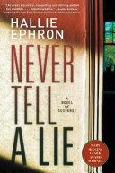 Never Tell a Lie Book