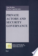 Private Actors and Security Governance