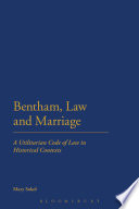Bentham  Law and Marriage