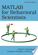 MATLAB for Behavioral Scientists  Second Edition
