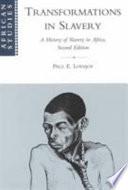Transformations in Slavery