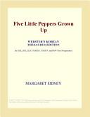 Five Little Peppers Grown Up  Webster s Korean Thesaurus Edition