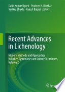 Recent Advances in Lichenology