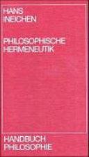Philosophische Hermeneutik