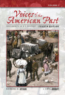 Voices of the American Past  Documents in U S  History