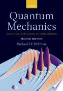 Quantum Mechanics Book PDF