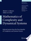 Mathematics of Complexity and Dynamical Systems