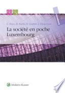 La société en poche Luxembourg 2014-2015