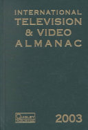 International Television   Video Almanac 2003