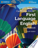Cambridge IGCSE First Language English Coursebook with Free Digital Content